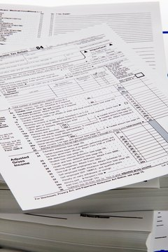 A 1099-MISC accompanies your 1040 tax return.