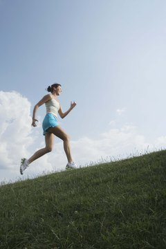 Running uphill is one of the best cardio workouts you can do for your glutes.