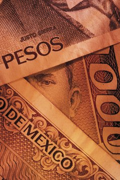 The Mexican peso is often closely tied to the value of the Euro.