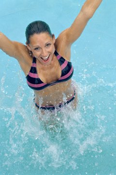 Aquatic exercise provides strength, aerobic and flexibility training.