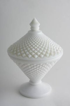 Westmoreland milk glass