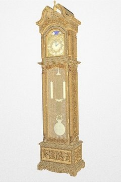 the chime, an Emperor grandfather clock