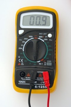 You, a DC power supply, a pair, multimeters