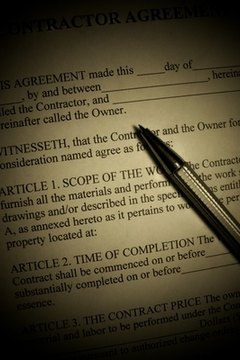 You can purchase a real estate contract form or create your own.