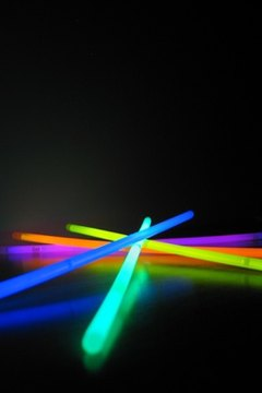 ordinary objects, the dark, glow sticks