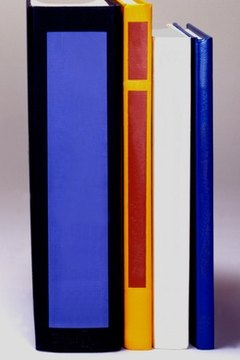 The journal's spine often features the publication volume, number, month and year.