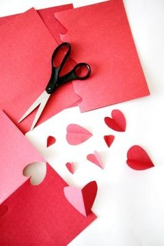 Make St. Valentine's Day crafts and explain the significance of the saint and the day.