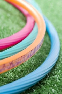 hula hoops, fun games, contests