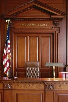 Get comfortable with the legal process by spending time in a courtroom watching a trial.