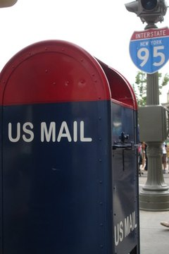 Mailing at a collection box is a convenient alternative to going to the post office.