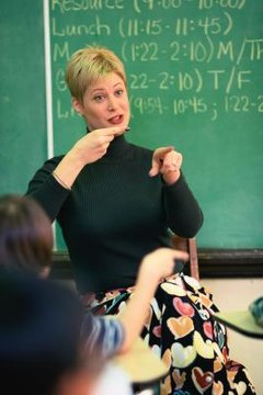 Acknowledge sign language as a legitimate language and include speakers of that language in the class