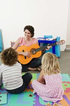Singing helps children remember new words.