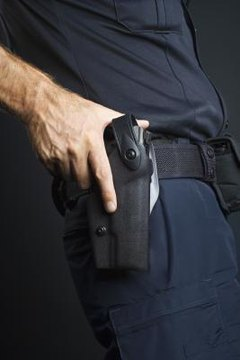 A gun holster, safe and easy, one-handed access, your weapon