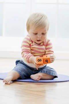 Blocks and puzzles help your child develop cognitive and motor skills.