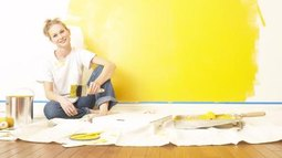 How to Paint Over Bright Yellow Walls