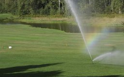 Know where your sprinkler's water pipe goes before you dig.