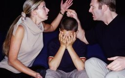 Spousal abuse affects everyone in the family.