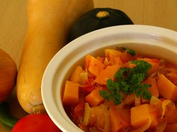 Carbohydrates in Butternut Squash and Carrots