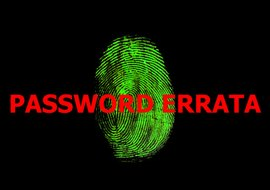 Memorize your password or write it down and keep in a safe place.