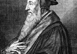 John Calvin lived from 1509 to 1564.
