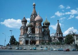 St. Basil's Cathedral is a Russian Orthodox church and global icon.