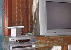 You can pass a cable signal from a cable box through a VCR to a TV.