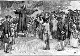 George Whitefield also advocated slavery and used Christianity to justify it.