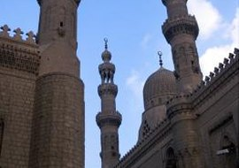 Mosque in Cairo, Egypt.