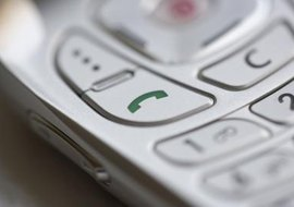 Kyocera GSM phones operate off SIM cards, which can be easily changed.