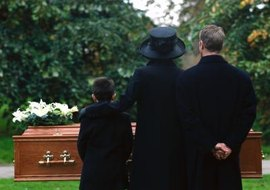 Pentecostal funeral services are sometimes followed by a graveside dedication.