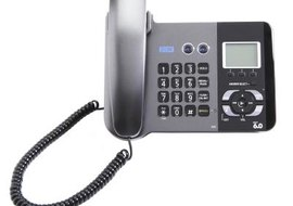 Using a landline phone helps preserve your prepaid minutes.