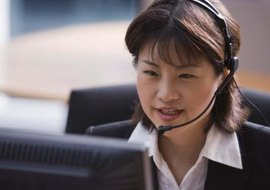 Headsets improve communication by placing the microphone closer to your mouth.