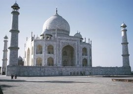 The Taj Mahal is a lasting symbol of India's Muslim conquerors.