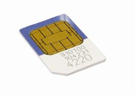 Installing a SIM card in an Apple iPhone takes just a few minutes.