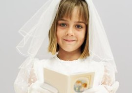 Communion is an important part of a young Catholic girl's life.