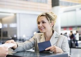 Airfare for business trips is tax-deductible.