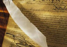 The U.S. Constitution's First Amendment addresses freedom of religion.