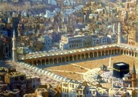 Mecca, the most holy city for Muslims, is located in Saudi Arabia in the Valley of Abraham.