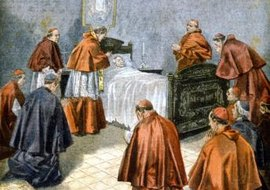 Pope Leo XIII received Last Rites, now known as Anointing of the Sick, before death.
