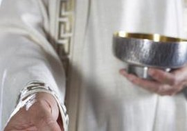 After confessing their mortal sins, Catholics are in a state of a grace and able to receive communion.