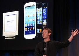 The Facebook app is built to sync easily with Android.