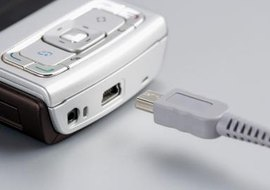 A USB connection offers one of the easiest connections to your computer.