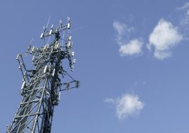 Cell towers are a common feature in a wireless bridge network.