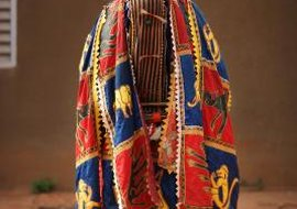 A representation of a spirit entity of West Africa's Yoruba people.