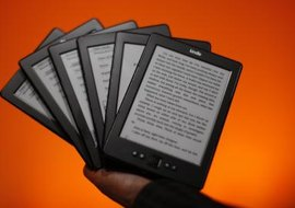 Access all kinds of written content on the Kindle.