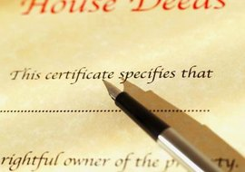 A deed can be used to transfer held in a living trust.