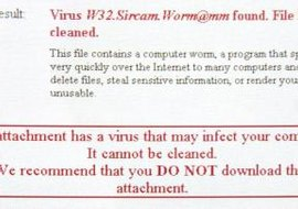 Viruses are self-replicating types of malware.