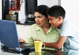 Control and monitor your child's online activity.