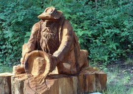 Statues to the gods are available in many forms in Wicca.