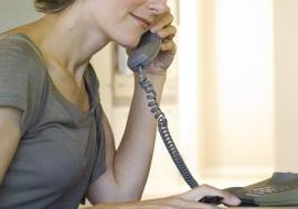 Check your voicemail using any landline phone.
